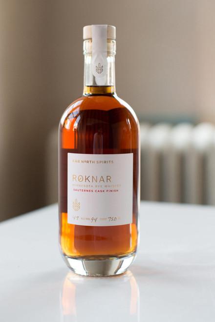 Far North Roknar Rye Sauternes, 750ml bottle