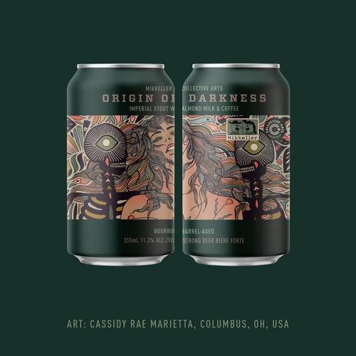 CA Mikkeller Origin Darkness, 4 pack 12oz cans