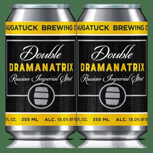 Saugatuck Double Dramanatrix, 4 pack 12oz cans