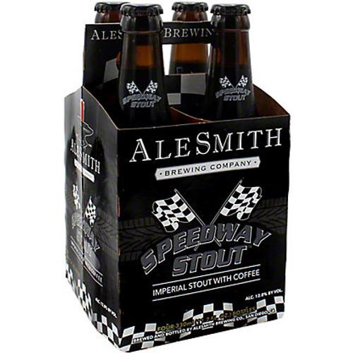 AleSmith Speedway Stout, 4 pack 11.2oz bottles