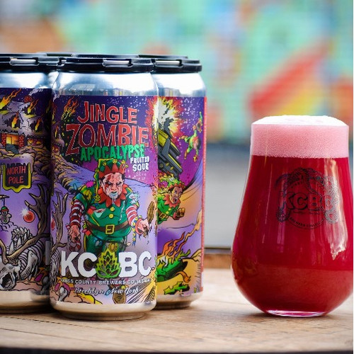 KCBC Jingle Zombie Apocalypse, 4 pack 16oz cans