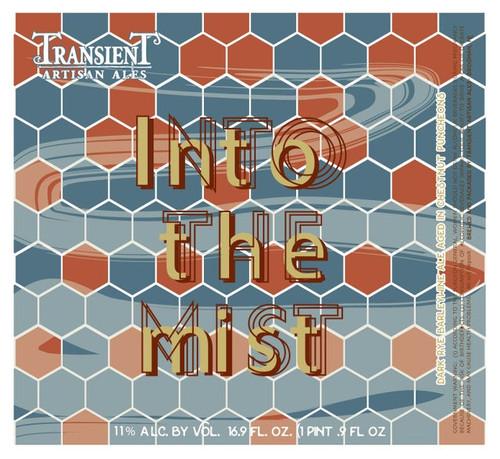 Transient Into the Mist, 16.9oz bottle
