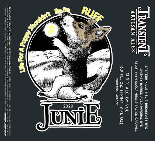 Transient Life for Puppy Junie, 16.9oz bottle