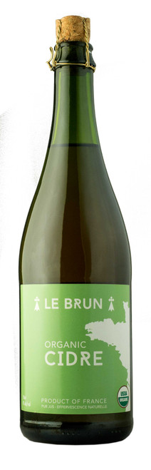 Le Brun Organic Cidre, 750ml bottle