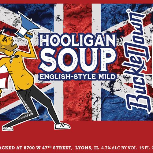 Buckledown Hooligan Soup, 4 pack 16oz cans