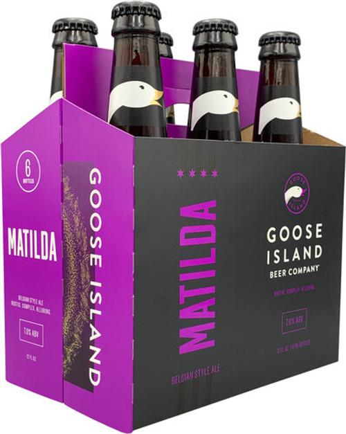 Goose Island Matilda, 6 pack 12oz bottles