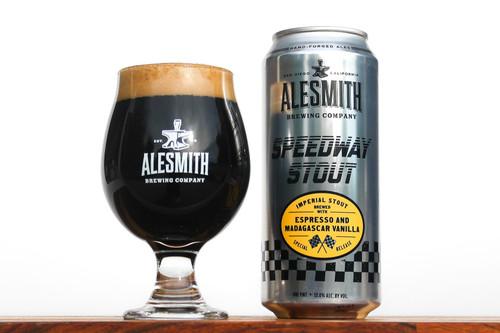 AleSmith Espresso Speedway, 4 pack 16oz cans