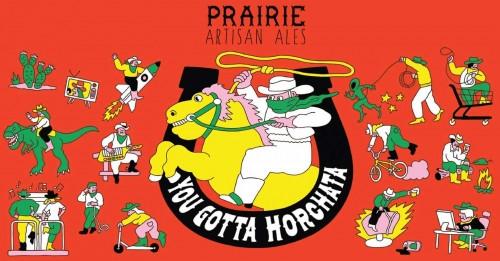 Prairie You Gotta Horchata, 12oz bottle