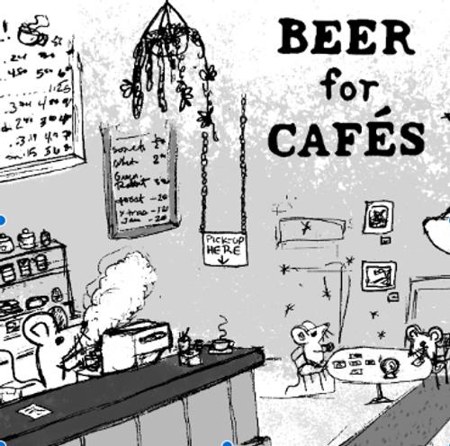 Off Color Beer for Cafes, 4 pack 16oz cans