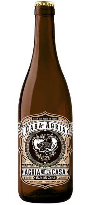 Casa Agria Saison De La Casa, 750ml bottle