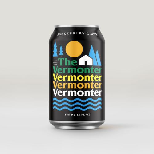 Shacksbury Vermonter, 4 pack 12oz cans