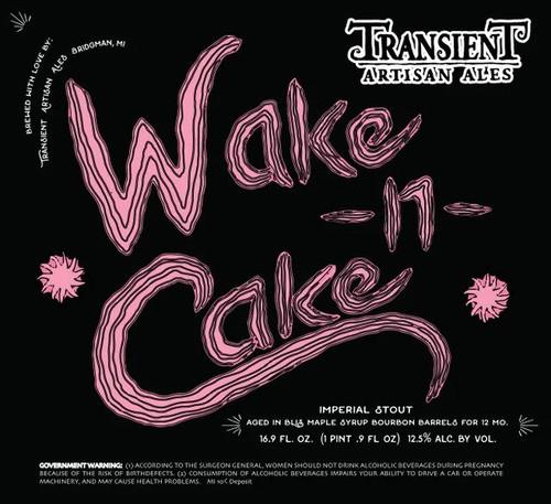 Transient Maple Wake n Cake, 16.9oz bottle