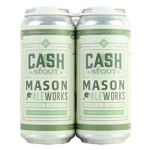 Mason Cash Stout, 4 pack 16oz cans