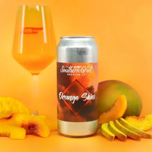 Southern Grist Orange Skies, 4 pack 16oz cans