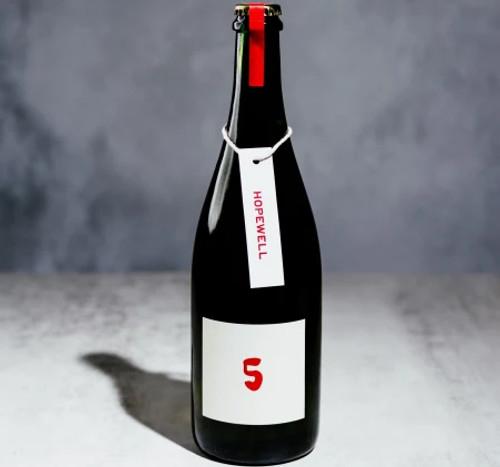 Hopewell 5th Anniversary Beer, 750ml bottle