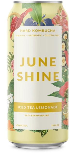 June Shine Iced Tea Lemonade, 16oz can