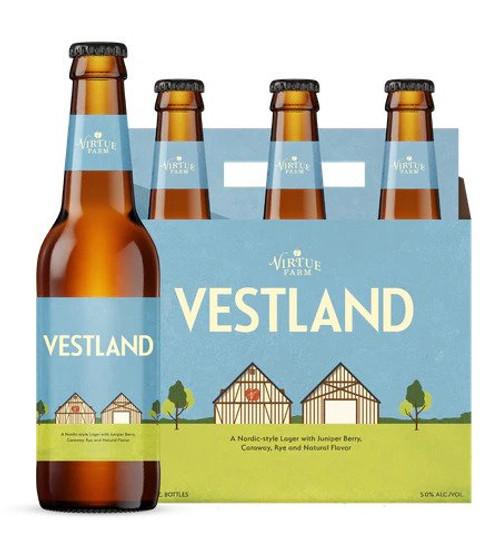 Virtue Farm Vestland, 6 pack 12oz bottles