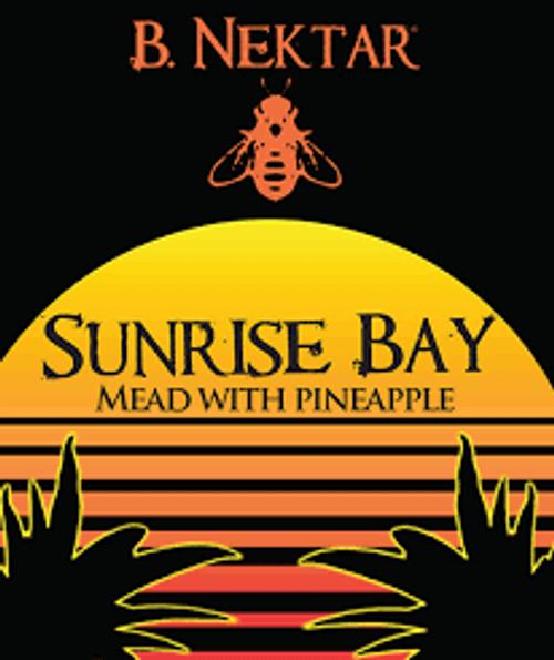 B Nektar Sunrise Bay, 4 pack 12oz cans