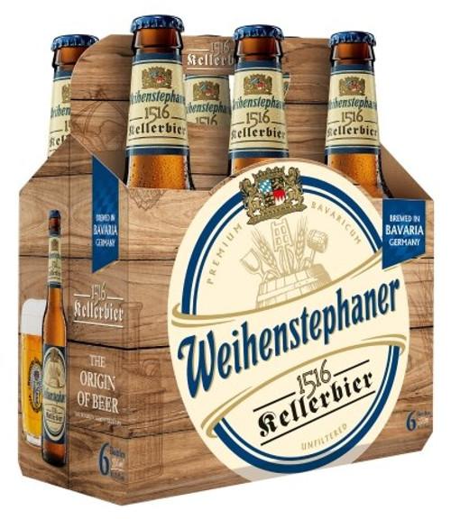 Weihenstephaner 1516 Keller, 6 pack 330ml bottles