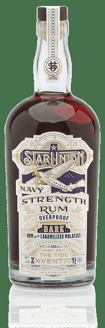 Star Union Navy Strength Rum, 750ml bottle