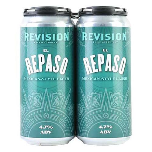 Revision El Repaso, 4 pack 16oz cans