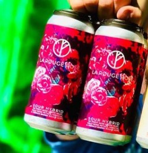 Duneyrr La Rouge Rose, 4 pack 16oz cans