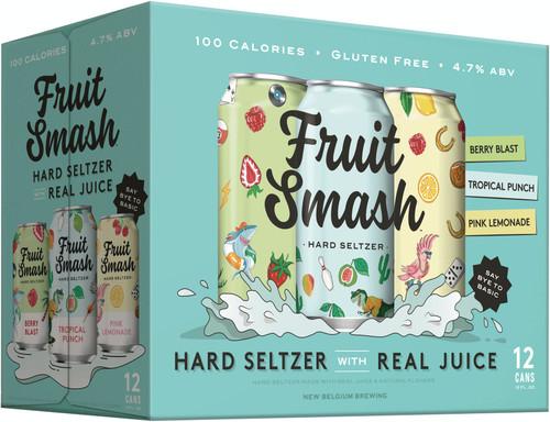 New Belgium Fruit Smash, 12 pack 12oz cans