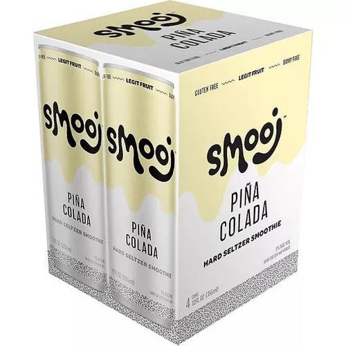 Smooj Pina Colada, 4 pack 12oz cans