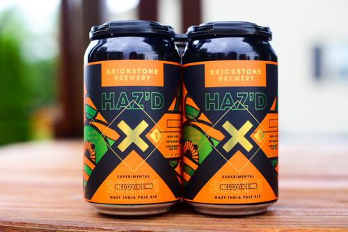 Brickstone Haz'd X, 4 pack 12oz cans