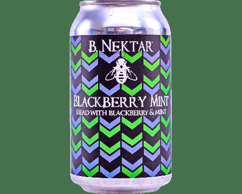B Nektar Blackberry Mint, 4 pack 12oz cans
