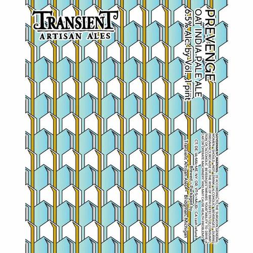 Transient Prevenge, 4 pack 16oz cans