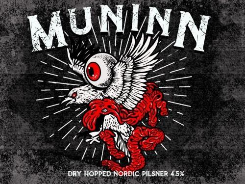 Mason Muninn, 4 pack 16oz cans
