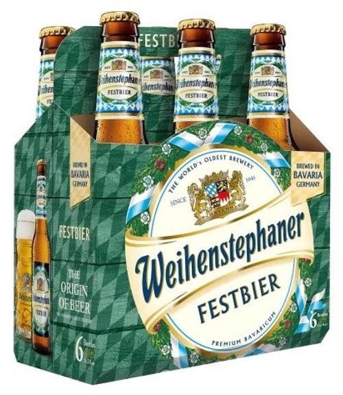 Weihenstephaner Festbier, 6 pack 330ml bottles