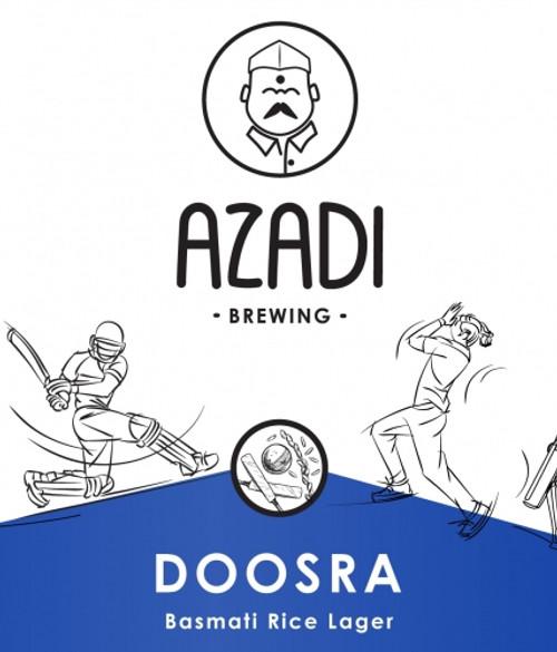 Azadi Doosra, 4 pack 16oz cans