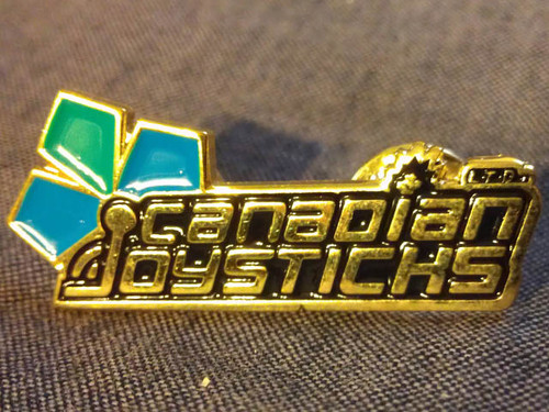 Canadian Joysticks Collectors Pin - First Edition