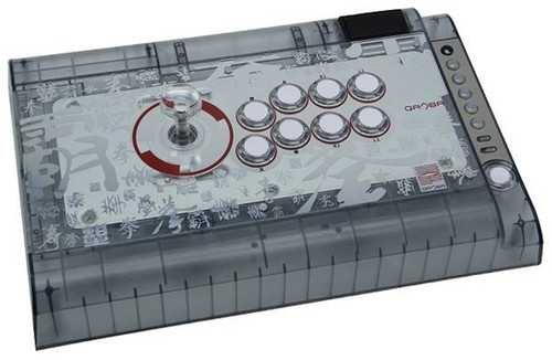 Qanba Crystal Arcade Fightstick For PS4 PS3 PC