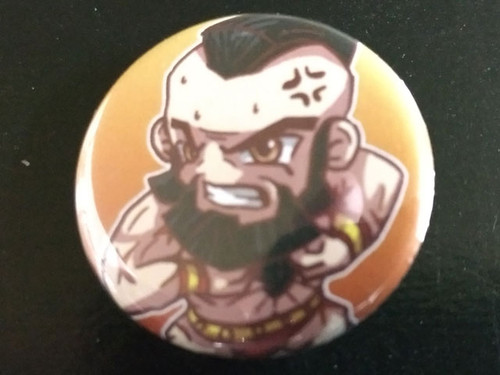 RedCaliburn Pins - Zangief
