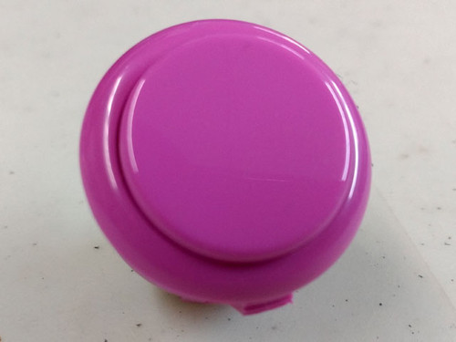 Sanwa Denshi OBSF-30 Solid Colour Snap-In 30mm Pushbutton - Violet