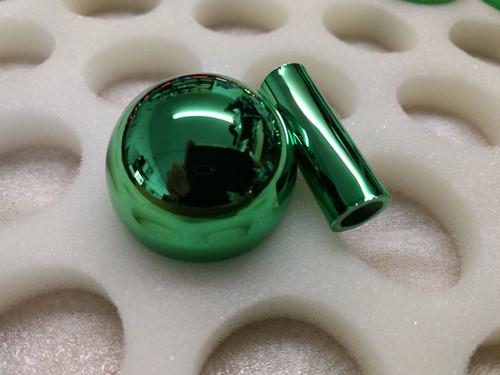 Electoplate Balltop and Shaft Guard Set - Green