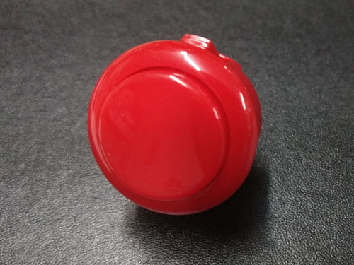 Sanwa Denshi OBSF-24 Solid Colour Snap-In 24mm Pushbutton - Red