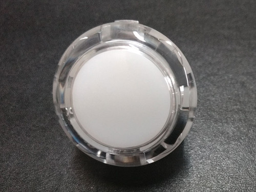 Sanwa Denshi OBSC-30 Translucent Clear 30mm Snap-in Push Button - Colourless