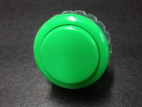 Seimitsu PS-14-GN Solid Colour 30mm Screw-In Pushbutton - Green
