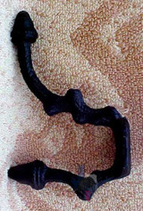 Buy Black Iron Hat & Coat Hooks Online