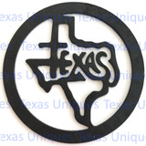 Buy Metal Art Cut Out Of State Of Texas Shop