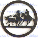 Buy Metal Cut Out Of Team Roper Shop