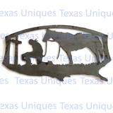 Buy Cowboy Church Metal Art Praying Cowboy Store
