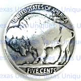 Buffalo Nickel Coin Concho