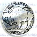 Buffalo Nickel Coin Concho