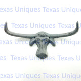 Longhorn Wall Plaque Hat Coat Hook
