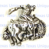 Western Rodeo Saddle Bronc Concho